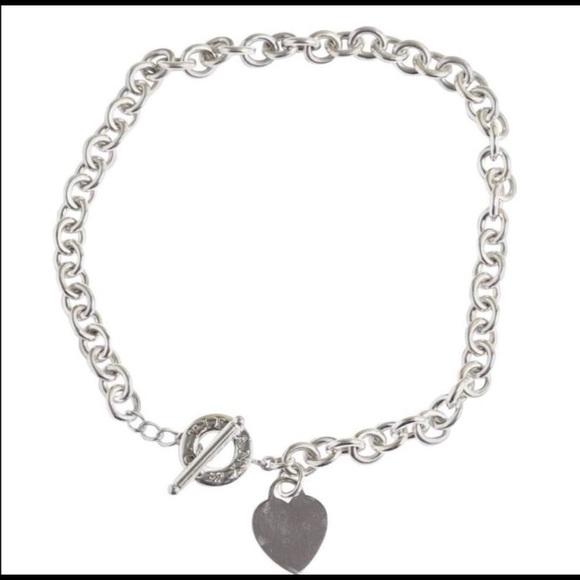 Tiffany & Co. Jewelry - Tiffany Heart Toggle Necklace